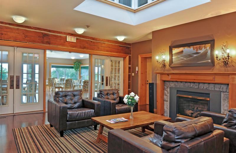 Lobby at Eganridge Resort, Country Club & Spa.