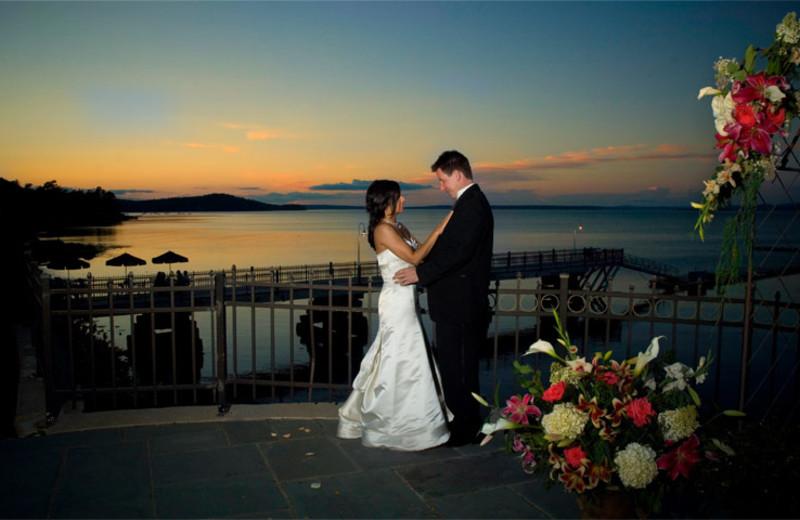 Wedding Couple at Bar Harbor Regency