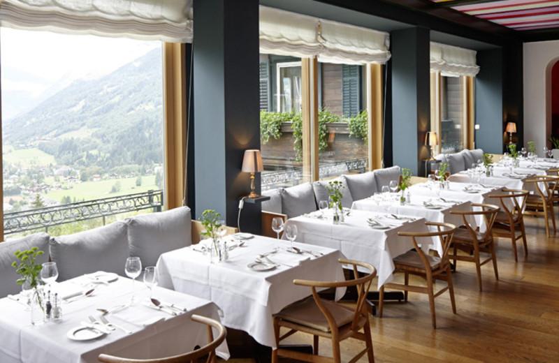 Dining at Haus Hirt Hotel & Spa.