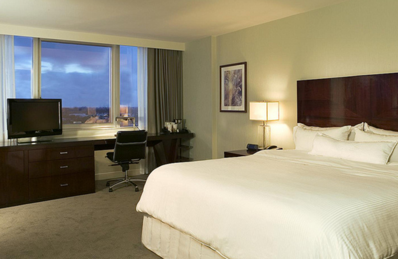 Guest room at The Westin Fort Lauderdale.
