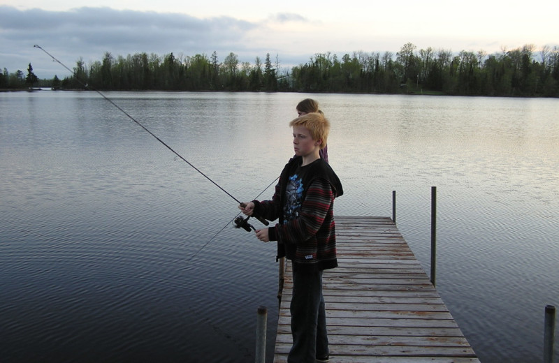 Fishing at Kokomo Resort.