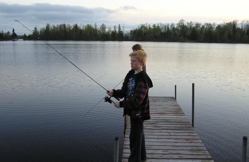 Fishing at Kokomo Resort.