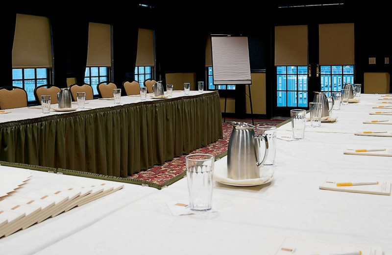 Meeting room at The Lighthouse Inn at Aransas Bay.