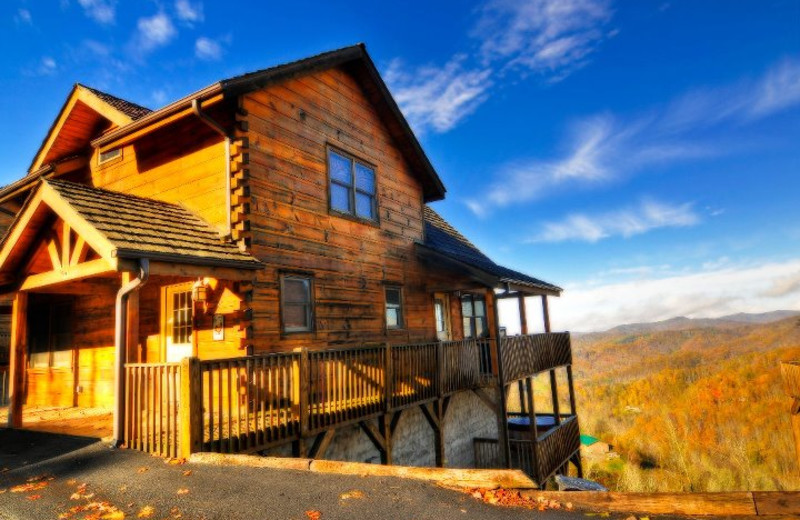 Cabin at Scenic Wolf Resort