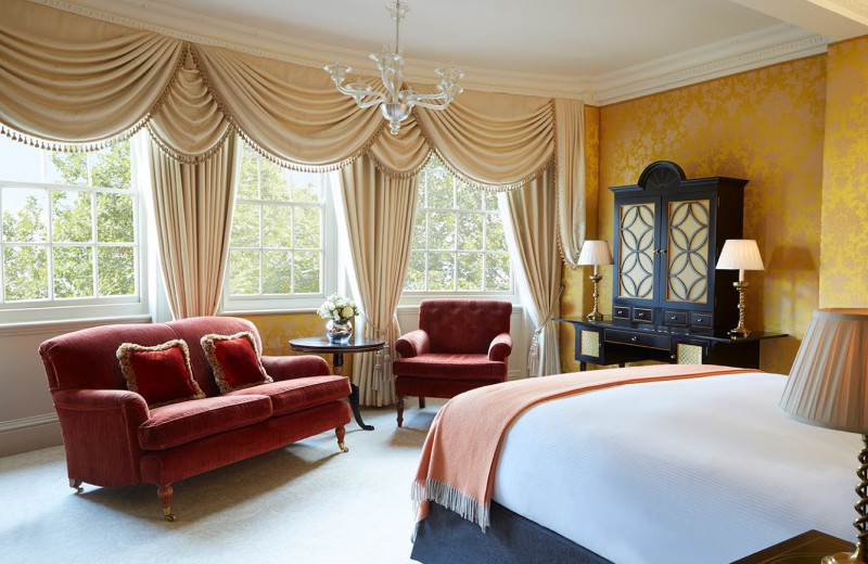 Guest room at Goring Hotel.