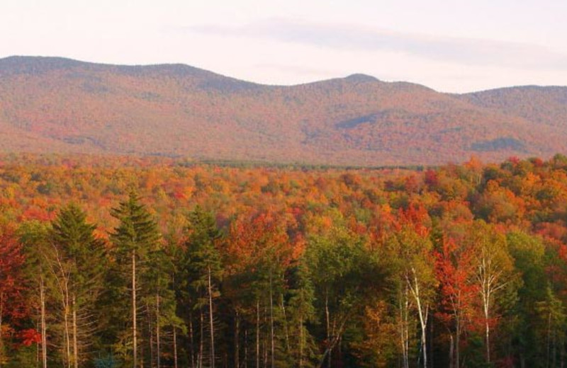 Fall Mountains at Robert Frost Mountain Cabins