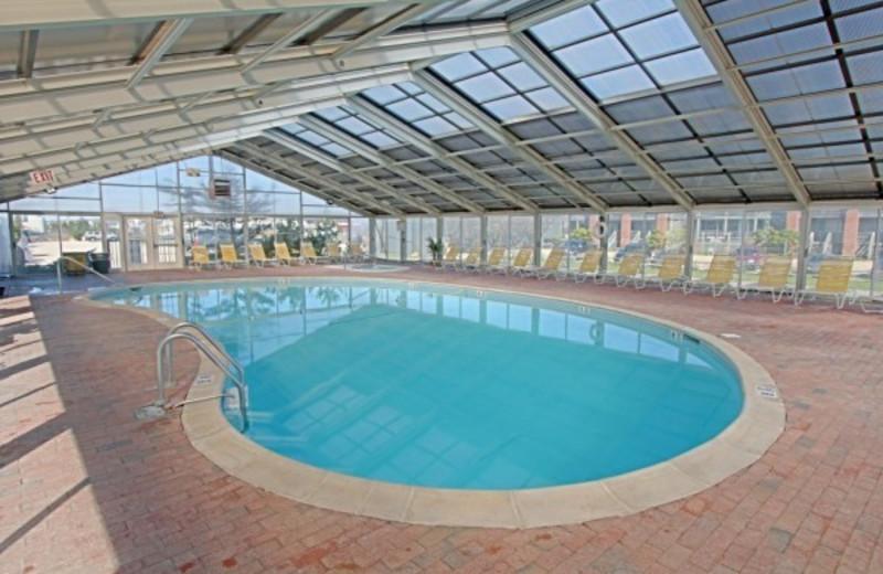 Indoor Pool at Ocean Beach Resort