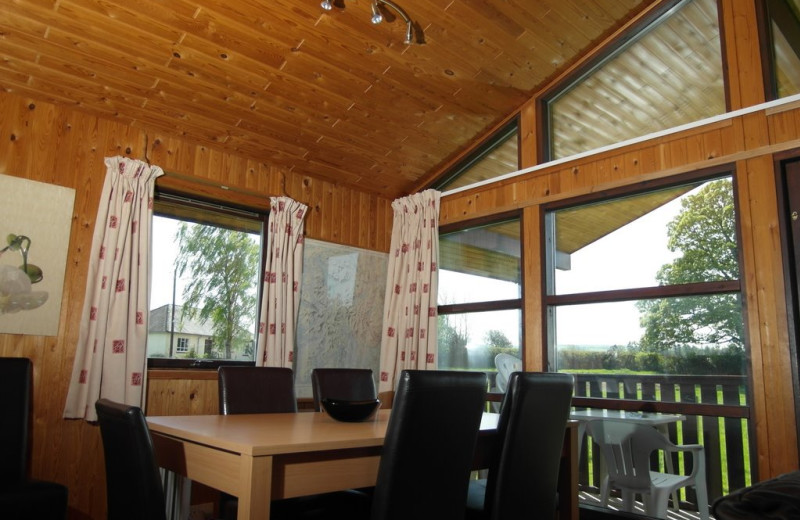 Guest room at Green View Lodges.
