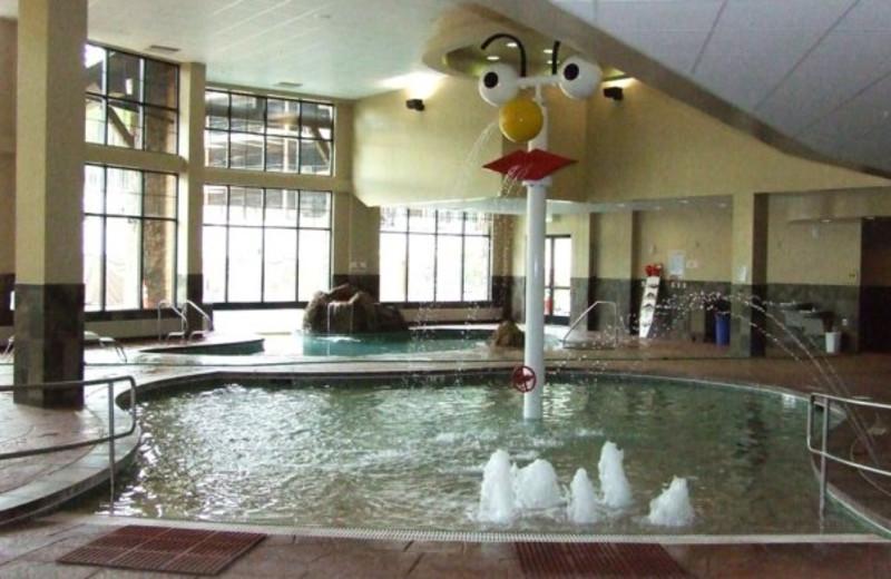 Kiddie pool at Grand Lodge on Peak 7.
