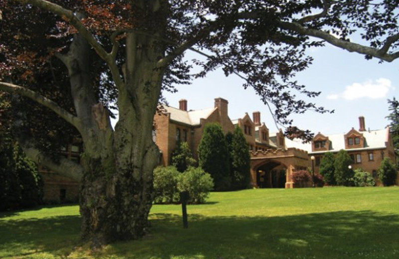 Exterior view of Cranwell Resort.