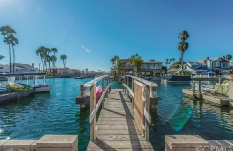 Rental fishing pier at Seabreeze Vacation Rentals, LLC-Orange County.