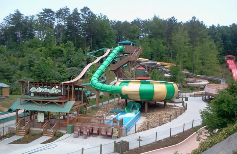 Splash Country near Dollywood Cabins.