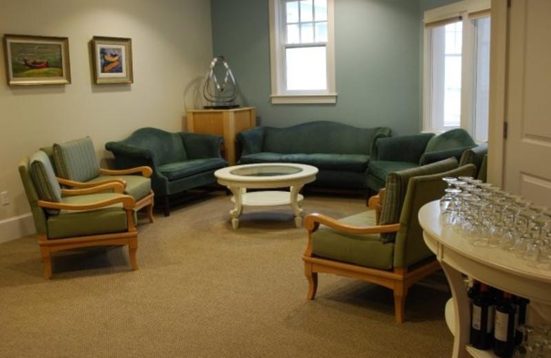 Meeting room at Beachmere Inn.