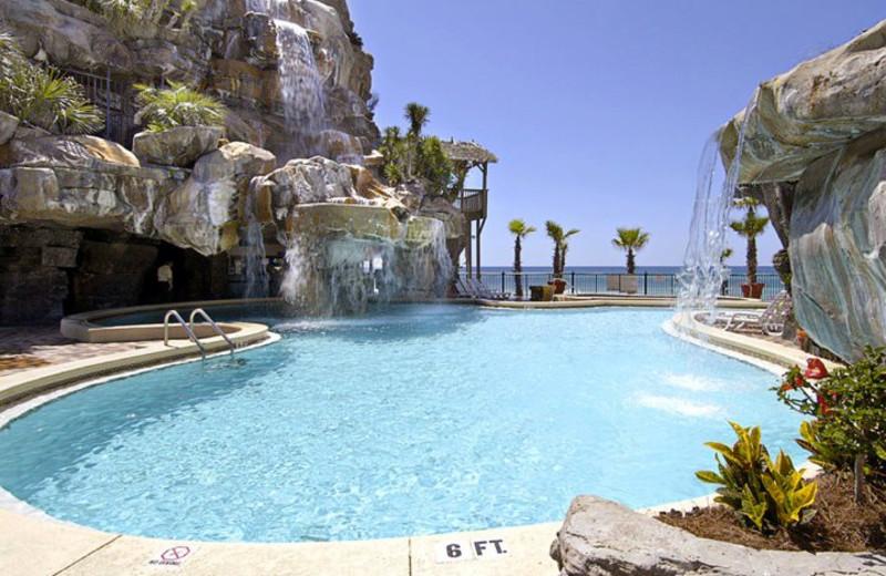 Outdoor Pool at Days Inn Panama City Beach