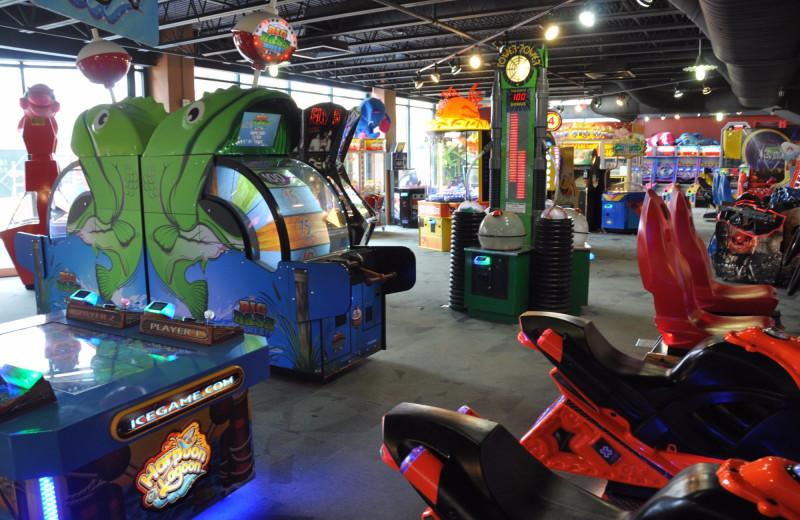 Arcade at Massanutten Resort.