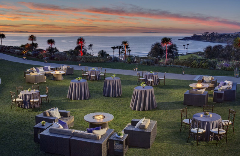 Wedding reception at The Ritz-Carlton, Laguna Niguel.
