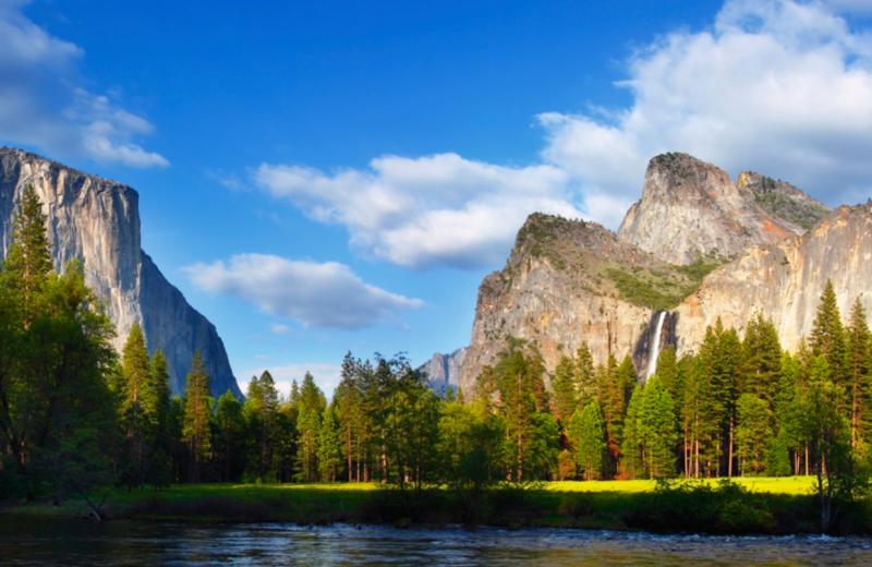Yosemite near Oakhurst Lodge.