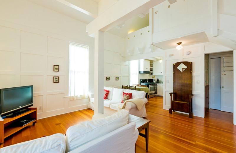 Cottage interior at Seabreeze Vacation Rentals, LLC.