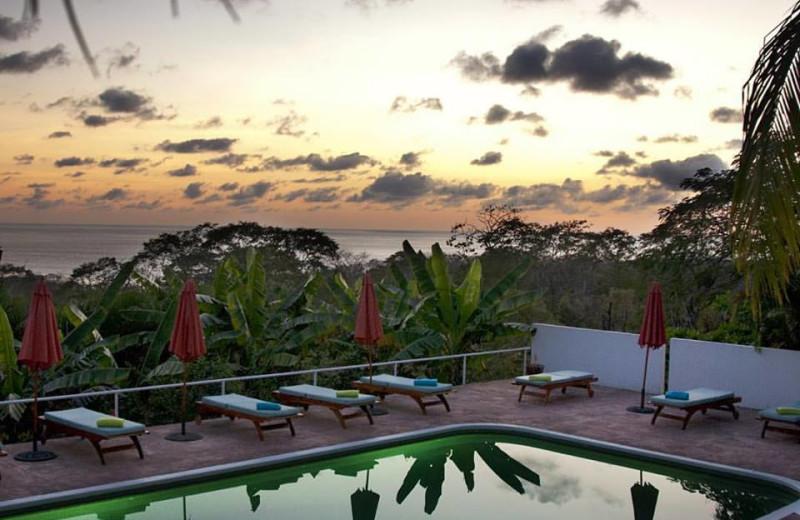 Outdoor pool at Hotel Vista Mar.