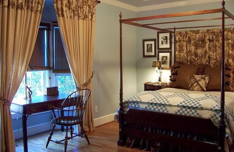 Guest room at Bailey's Uptown Inn.