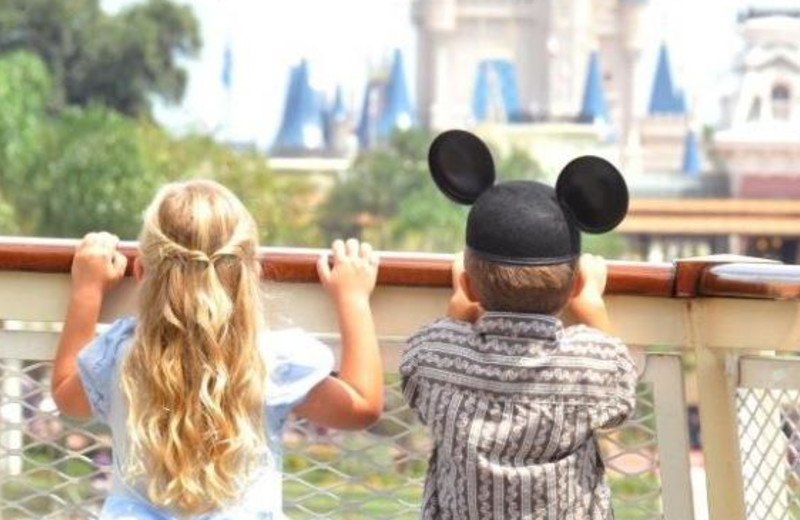Visit Disney World near Lake Eve Resort.