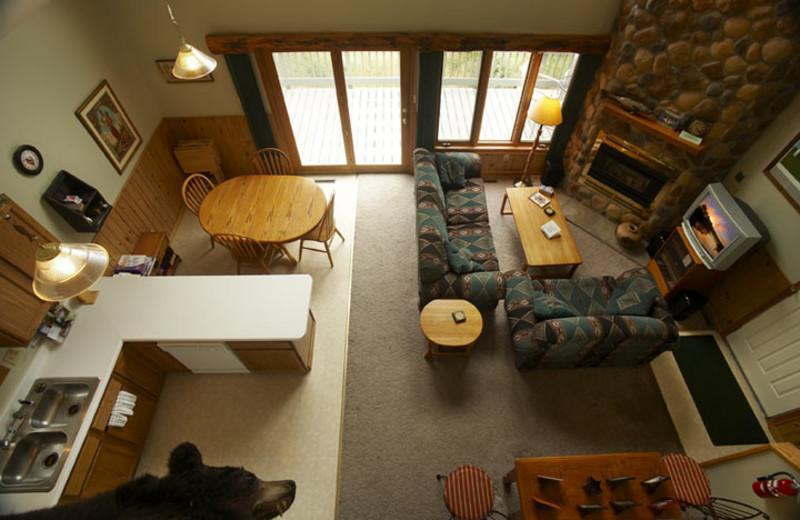 Villa interior at Giants Ridge Golf and Ski Resort.
