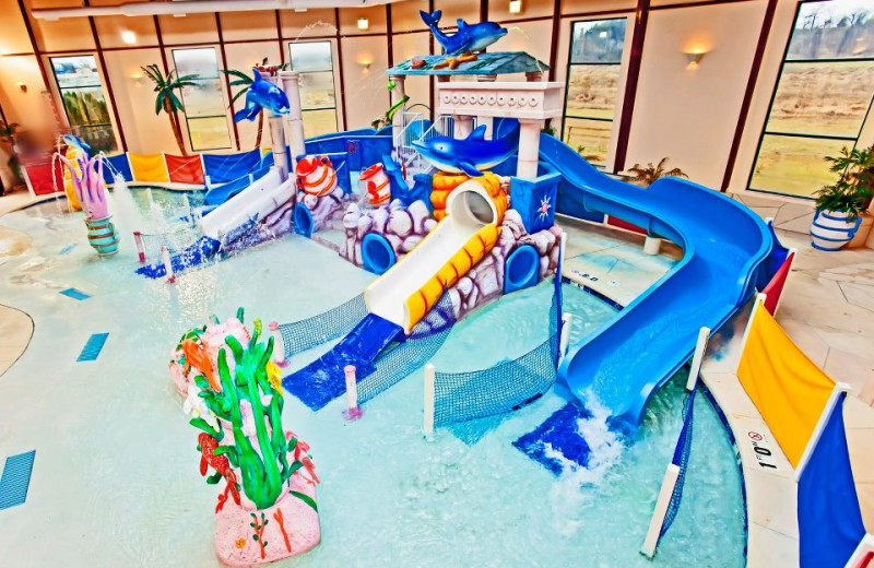 Indoor Waterpark at the Grand Marquis Resort Hotel & Suites