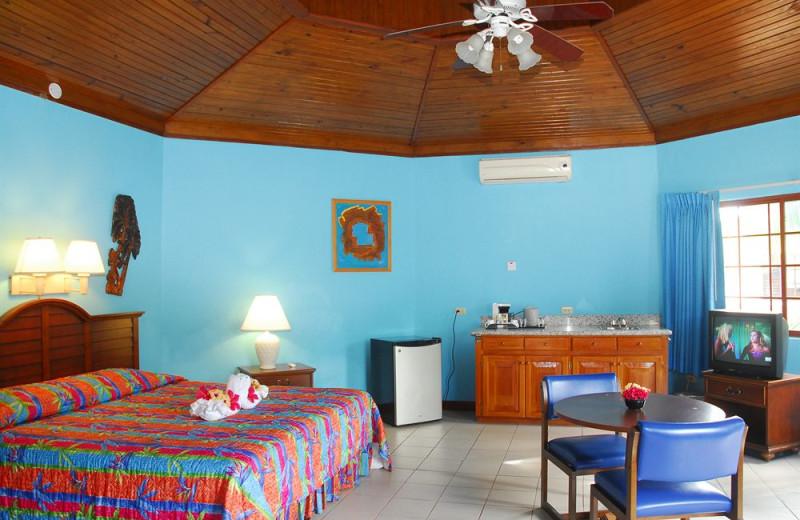 Guest room at Coco La Palm.