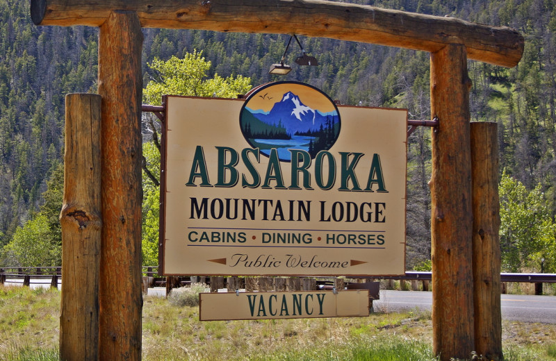 Welcome to Absaroka Mountain Lodge.