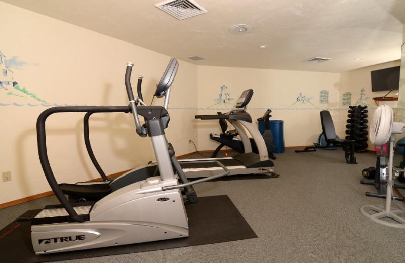 Fitness center at High Point Inn.