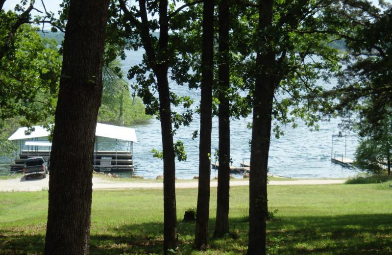 Lake view at Stillwater Resort.