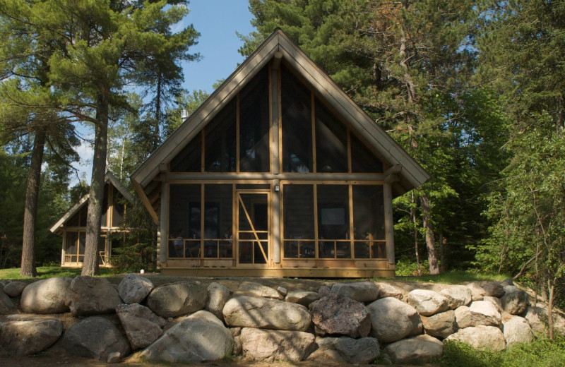 Exterior view of YMCA Camp Du Nord.
