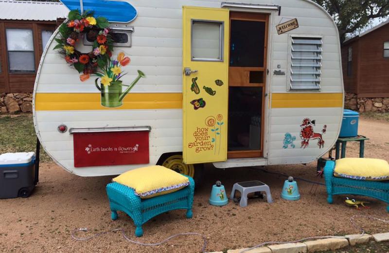 RV camp at Big Chief RV Resort.