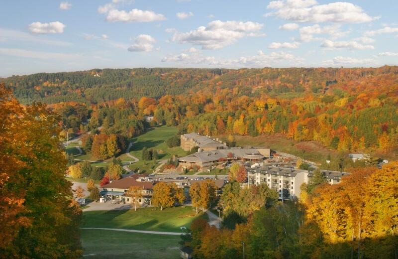 Aerial View of Horseshoe Resort