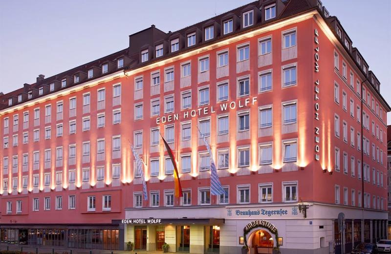 Exterior view of Eden-Hotel-Wolff.