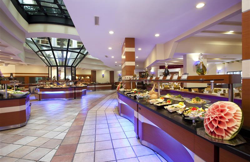 Dining at Limak Arcadia Golf Resort.