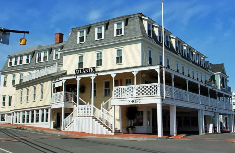 Exterior view of Atlantic House Inn.