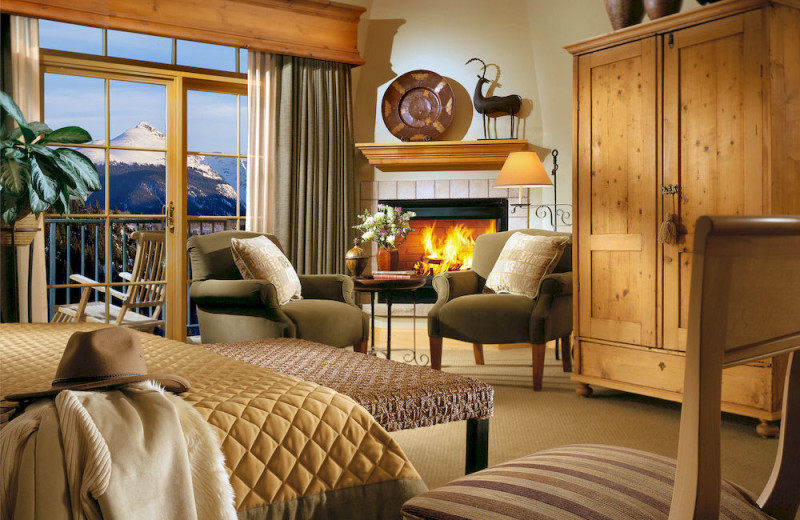 Guest room at Lodge & Spa At Cordillera.