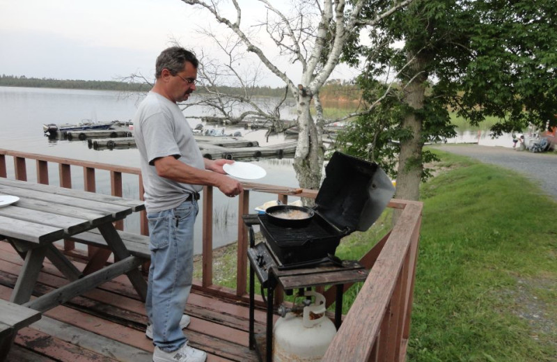 Cooking Out at Birch Dale Lodge