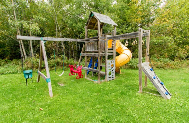 Playground at Krueger's Harmony Beach Resort.