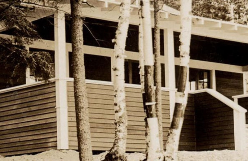 Historic photo of White Birch Village Resort.