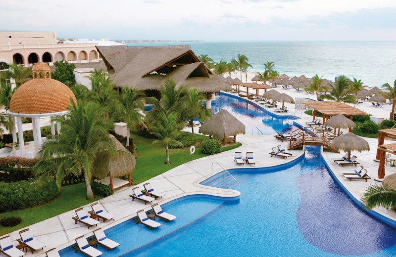 Exterior view of Excellence Riviera Cancun.