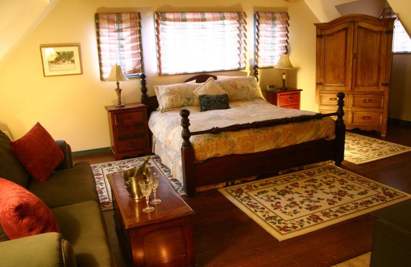 Suite Bedroom at Siwash Lake Ranch