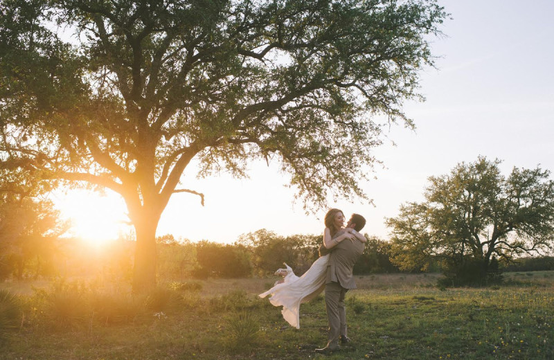 Couple at The Heart of Texas Ranch.