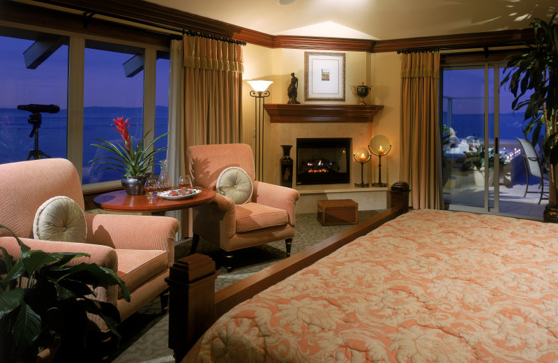 Guest suite at Woodside Hotels and Resorts.