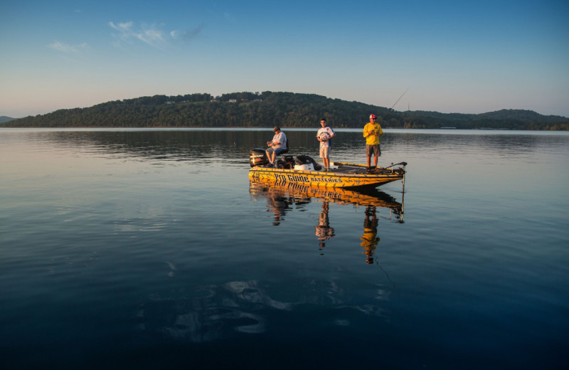 Fishing near Amazing Branson Rentals.