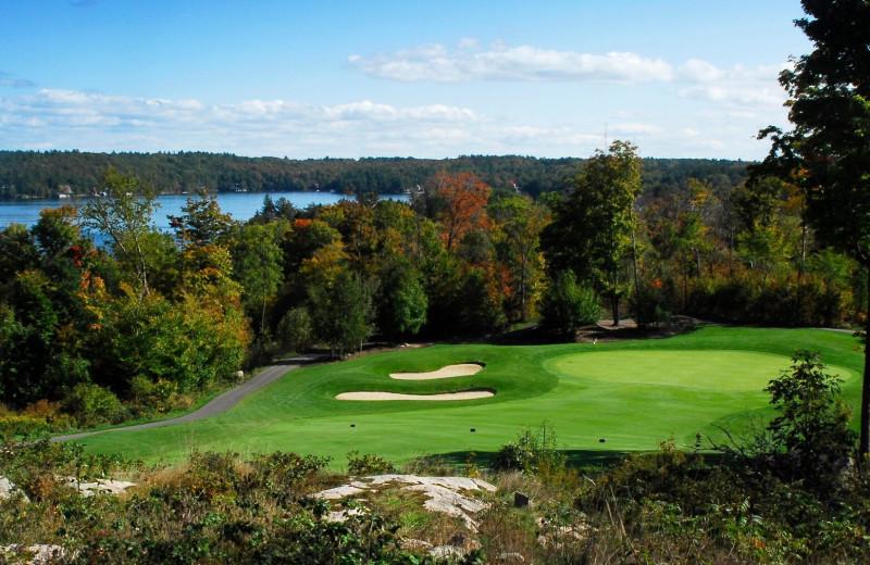 Golf course at Sherwood Inn.