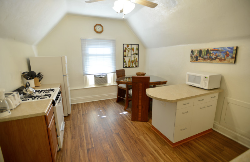 Full Kitchen -  Large One Bedroom apartment suite at Friendship Suites.