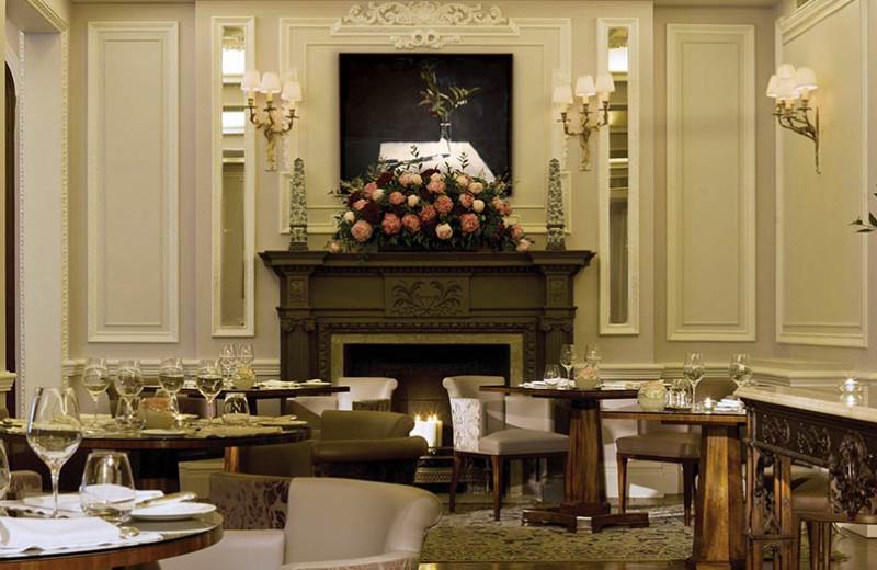 Dining at Stafford Hotel.