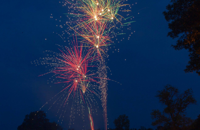 Fireworks at Great Blue Resorts- McCreary's Beach Resort.
